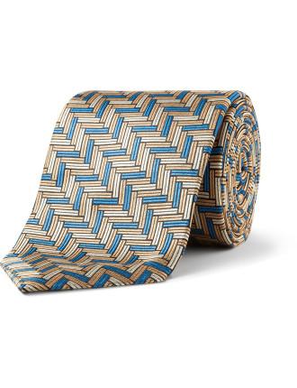 Fir Geometric Tie