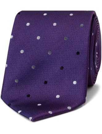 Multi Color Spot Tie