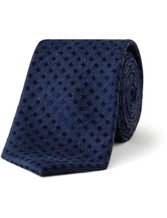 Micro Spot Textured Tie