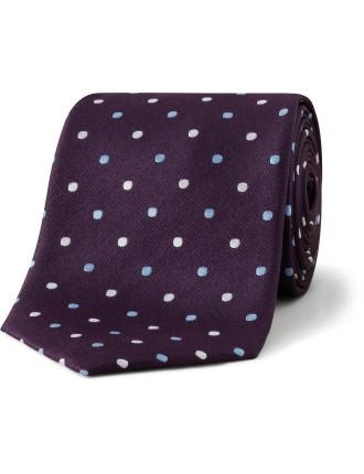 Two Tone Spot Tie