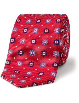 Floral/Spot Tie