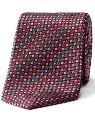 Geo Pattern Tie