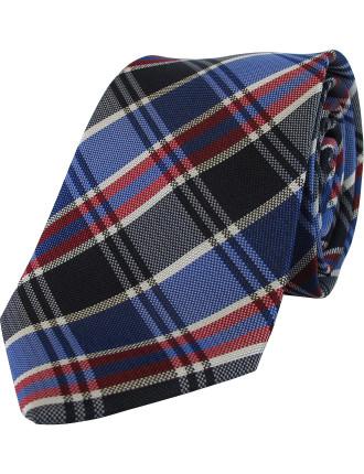 Tartan Check Tie