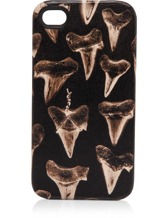 Shark Tooth Print Phone Case