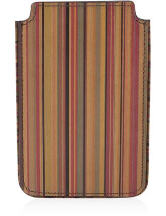 Leather Multistripe Phone Case