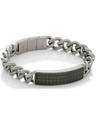 Chain Bracelet With Plate