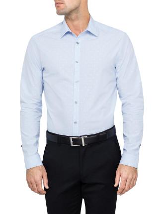 Slim Stripe W/ Tonal Spot Business Shirt W/ Sc