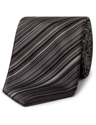 8cm British Collection Woven Silk Multi Stripe Tie