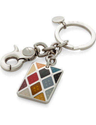 Harlequin Key Ring