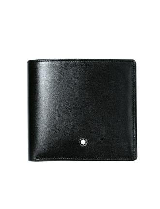 Mesiterstuck Wallet with Money Clip 6cc Black