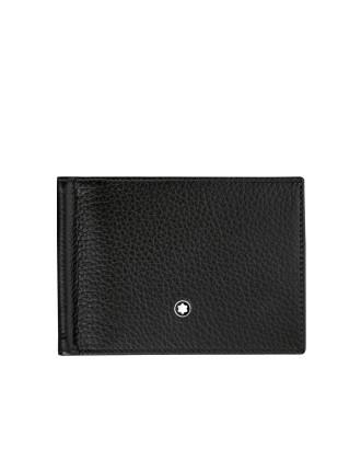 Meisterstück Soft Grain Wallet with Money Clip Small