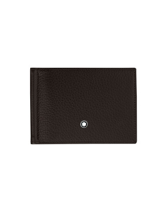 Meisterstück Soft Grain Wallet with Money Clip Small