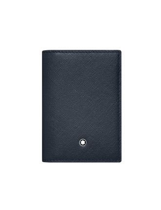 Sartorial Business Card Holder 5cc Indigo/Flannel
