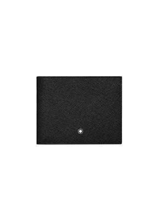 Sartorial Wallet 6cc Black/Indigo