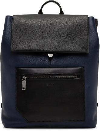 Brummel pebbled leather Backpack