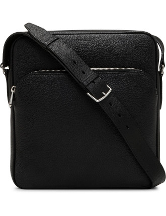 CITY PEBBLED LEATHER N/S Cross Body