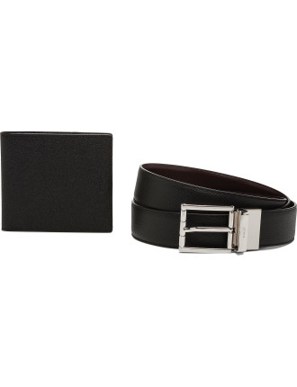 Wallet and Belt gift pack