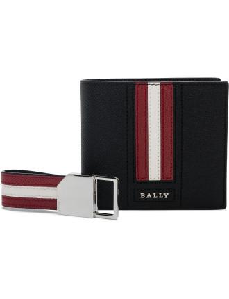 Wallet and keyring gift box