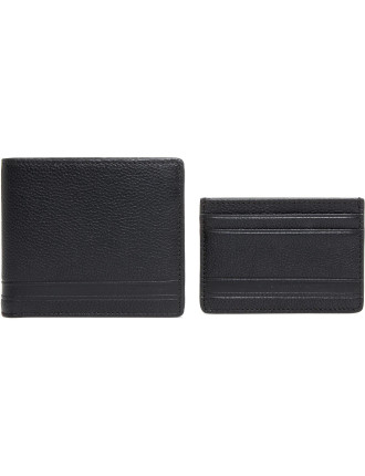 Wallet and money clip gift set