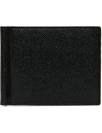 Brigaderie 8cc Leather Bifold Wallet With Money Clip