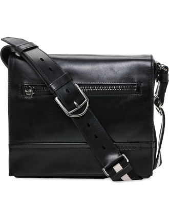 Trainspotting Cross Body Messenger Flap Bag