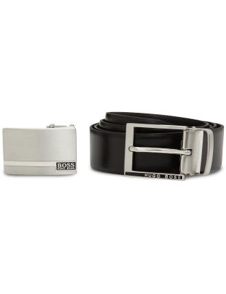 Georg Two Buckle Belt Gift Box