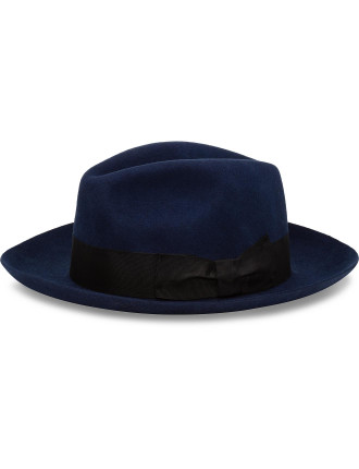 Felt Fedora With Grow Grain Band