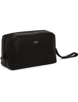 Moloch Pebbled Leather Wash Bag
