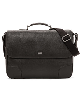 Weter Printed Calf Structured Briefcase