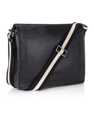 Trainspotting Medium Cross Body Messenger With Flap