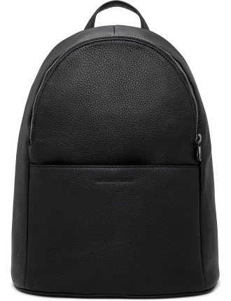 Linea Luxor Pebbled Leather Backpack