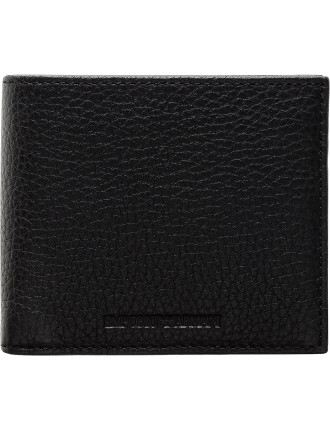 Linea Luxor Pebbled Leather 4cc W/ Coin Pouch Billfold