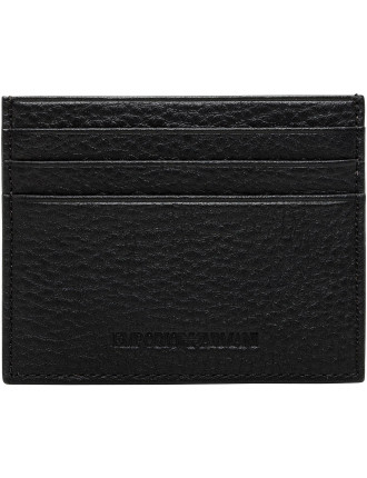 Linea Luxor Pebbled Leather 5cc Vertical Billfold