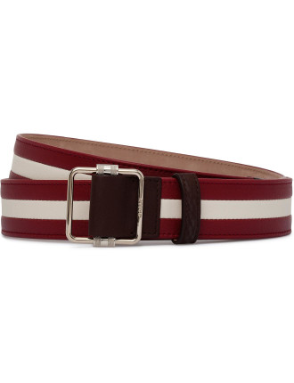 Trainspotting Leather Belt W/ Slinding Buckle