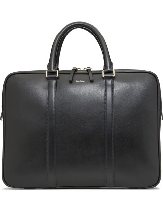 Lux Leather Slim Briefcase