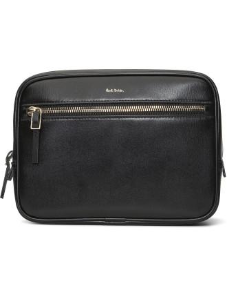 Lux Leather Washbag