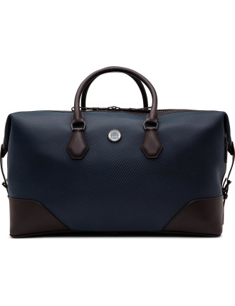 Chassis Leather Holdall W/ Bridle Leather Trim