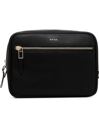Lux Leather Washbag
