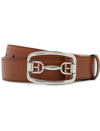 Horsebit Buckle Belt