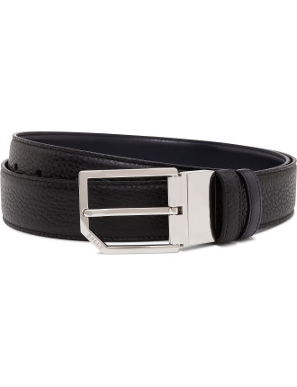 Printed Leather Smart Casual Belt