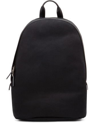 Travely Lux Canvas W/ Leather Trim Backpack