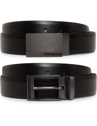 Golias 2 Buckle Belt Gift Pack