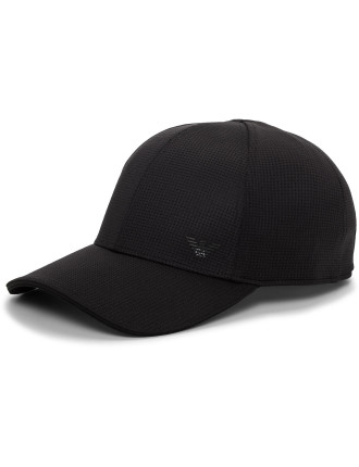 Mesh Adjustable Baseball Cap W/ Eagle Logo