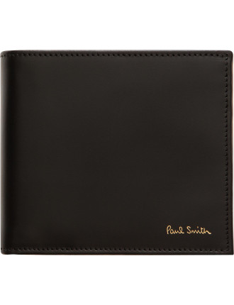 Interior Embossed Multistripe 8cc Billfold
