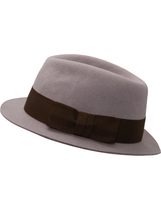 100% UK Wool Trilby