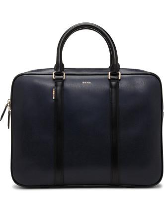 New City Emboss Medium Briefcase