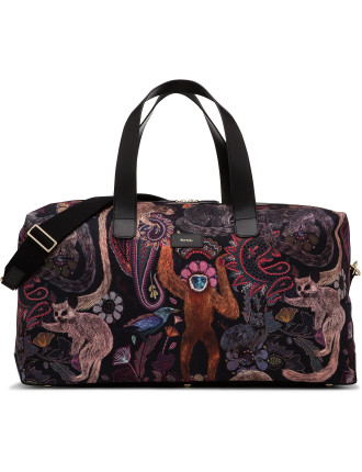 Horniman Printed Canvas Holdall