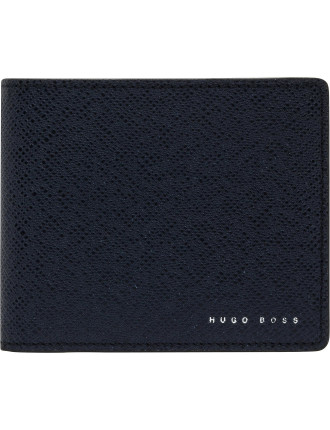 Signature Embossed Leather 8cc Billfold