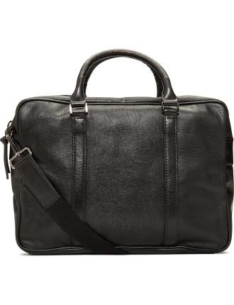 Saffiano Slim Briefcase