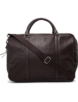 Xl Overnight Bag - Smooth Leather